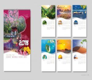 Lịch Treo Tường Thị Trường <br> (Mẫu theo catalogue lịch)