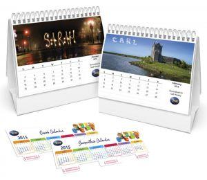 Lịch Để Bàn Thị Trường <br> (Mẫu theo catalogue lịch)
