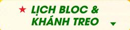 Lịch bloc khánh treo