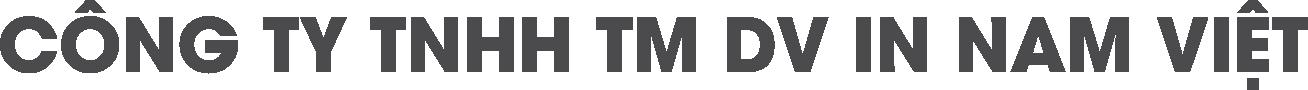 Công ty TNHH TM DV IN NAM VIỆT